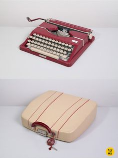 The ultra-portable and stylish 1950's Triumph Tippa typewriter!  One I really want!