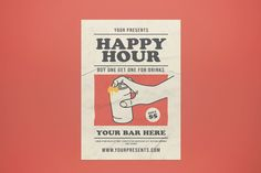 Party Flyer, Happy Hour, Presents, Gifts, Favors, Gift