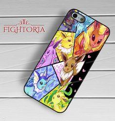 Eevee Evolution Pokemon - zzZzz for  iPhone 6S case, iPhone 5s case, iPhone 6 case, iPhone 4S, Samsung S6 Edge