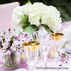 Find inspiration in these gorgeous outdoor tablescapes! | The Party Goddess! #decor #tablescapes Wedding Themes, Wedding Decorations, Table Decorations, Works With Alexa, Wedding Lingerie, Host A Party, Decorating Small Spaces, Soft Furnishings, Bridal Accessories