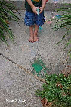 sidewalk chalk on pinterest sidewalk chalk sidewalks and sidewalk. Black Bedroom Furniture Sets. Home Design Ideas