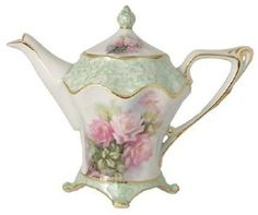 Hand Painted Porcelain Teacup Tea Cup Teapot Hand Painted China