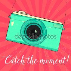 Значок зеленый камеры - Стоковая иллюстрация: 70395553