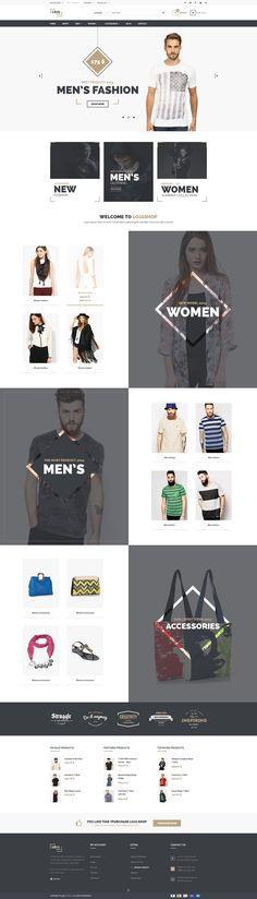 Een online webshop verbeterd de naamsbekendheid van de winkel en de vooruitgang van de winkelstraat. http://templates.jrstudioweb.com/