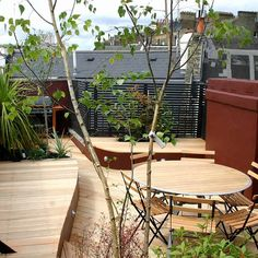 Stylish Seating Roof Terrace