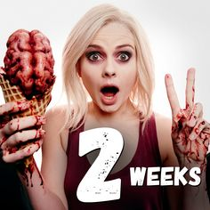 Craving a second helping of the show with the most brains? iZombie returns Tuesday, October 6 at Rob Thomas, Comic Movies, Good Movies, Amazing Movies, Comic Book, Izombie Tv Series, I Zombie, Vertigo Comics, The Cw Shows