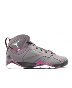 pretty nice d9577 320da Air Jordan 7 Retro 30th Gg Valentines Day Dark Grey White Blck Fchs Flsh  705417 016