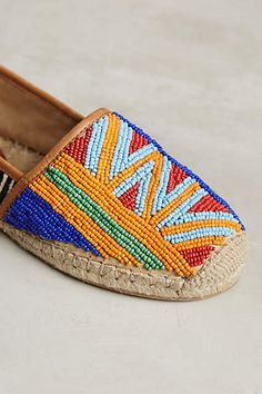 Sam Edelman Lida Espadrilles - anthropologie.com #anthrofave #anthropologie Espadrille Shoes, Shoes Sandals, Look Boho, Unique Shoes, Crochet Shoes, Beautiful Shoes, Summer Shoes, Leather Sandals, Me Too Shoes