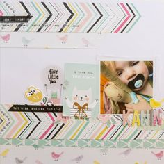 Kanin - Ida Rosberg #cratepaper #maggieholmes Layout using products from Crate Paper and Maggie Holmes!