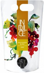 Indulge Wines 2009 Sauvignon Blanc North Coast in the Astrapouch - The Green, Low-Carbon, Eco-Friendly Packaging Alternative