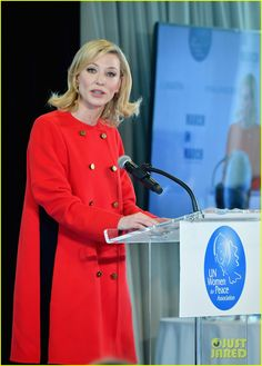Cate Blanchett & Debra Messing Step Out at UN Women for Peace Association Luncheon