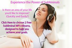 I LOVE my #Subliminal MP3's! You can choose 2 free albums from a variety of topics and then you can choose what type of sound. I listen to #Workout while walking my dog and Stream while working at the computer and #Relaxation when I'm drifting off to sleep.