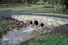 When you need a bridge over your stream.   ---- Tutorial on building a bridge