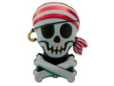 Shiver me timbers!!  It's a Jolly Roger foil balloon!  The PERFECT addition to your pirate party guaranteed to add a little WOW factor to your celebrations!  #kidsparty #partytheme #partyideas #foilballoon #balloons #event #styling #decorate #partyshop #partysupplies #inspiration #photobooth #photography #letthekids birthdayparty #cute #partydecor #emoji #etsy #instashop #firstbirthday #bridalshower #babyshower #fun #bandofun #littlebooteekau #pirateparty