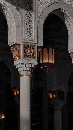 Islamic Wallpaper Iphone, Mecca Wallpaper, Quran Wallpaper, Islamic Quotes Wallpaper, Black Aesthetic Wallpaper, Aesthetic Wallpapers, Mekka Islam, Mecca Kaaba, Mosque Architecture