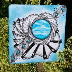 #zentangle #zen#zia #zentangleart #inspiration #draw #drawing #doodle #doodling…