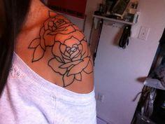 My Roses on shoulder