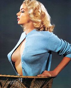 Russ Meyer's wife, Eve Meyer c. 1950's