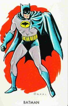 Vintage Batman art....National Periodical Publications International.