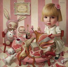 Partido de Rosie té por Mark Ryden