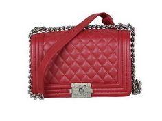 Wholesale Réplique 2013 Boy Chanel Flap Sac à bandoulière classique Cannage Patter - €279.89 : réplique sac a main, sac a main pas cher, sac de marque   chanel boy