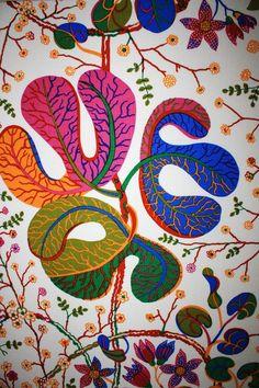 #Textile print  @Josef Frank