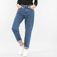 Pimkie.fr : On aime l'esprit vintage du jean mom taille haute.