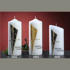 Candles for sorrow - Design and Church Candles since 1792
