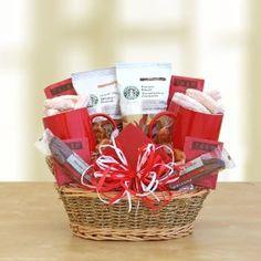 Starbucks Valentines Day Gourmet Coffee Gift Basket