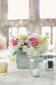 Rustic Wedding Centerpieces 1