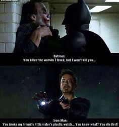 The difference between marvel and DC