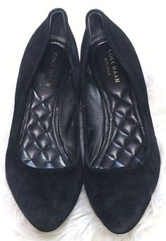 5210ff5b544 Cole Haan Black suede Heels Sz 6.5B  fashion  clothing  shoes  accessories