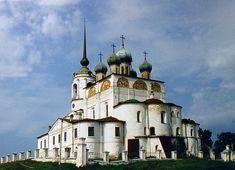 Anikei Stroganovin määräyksestä rakennutettu Neitsyt Marian ilmestyspäivän kirkko Solvytšegodskissa (1560)