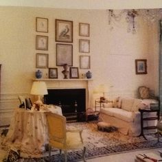 The other end of Jackie's White House bedroom.