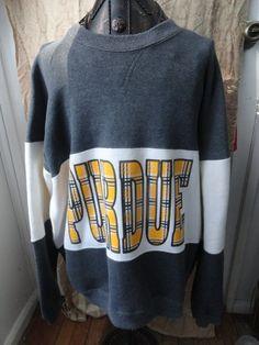 90'S Purdue Boilermakers longsleeve sweatshirt by finleysvintage