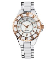 """AVON - Up-to-the-Minute Rose Goldtone Accent Watch available at  """"youravon.com/johnlavayen"""""""