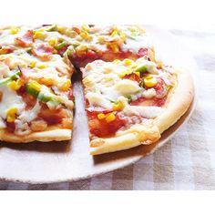 クミタス レシピ 米粉でつくるピザ生地(小麦、乳不使用)