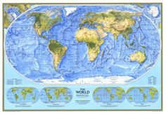 90 Best Vintage National Geographic Maps images