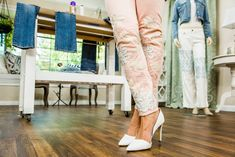 Want to upgrade a pair of pants? These DIY Statement Pants are perfect for your closet! Tune in to Home & Family weekdays at 10a/9c on Hallmark Channel!