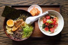 Masaharu Morimoto's Momosan Ramen and Sake Is Expanding to Seattle - Eater Seattle Masaharu Morimoto, Bamboo Sushi, Seattle Restaurants, Seattle Food, Garlic Fried Rice, Ramen Restaurant, Iron Chef, Ramen Recipes, Beef Ribs
