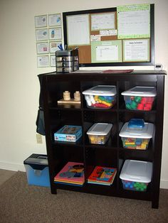 Awesome tour of a Navy Child Development Home (in-home childcare). Not cluttered at all, very organized and looks like the kids have a blast. Great toy organization ideas.