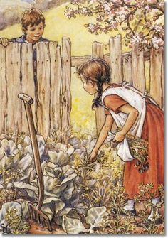 Cicely Mary Barker - Groundsel and Necklaces - A Job for Jenny