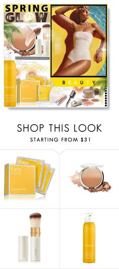 """Spring Glow..."" by desert-belle ❤ liked on Polyvore featuring beauty, Kate Somerville, lilah b., Payot and NARS Cosmetics"