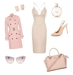 """Date night"" by thinkk-1 on Polyvore featuring Topshop, Burberry, Kate Spade, Tom Ford, Michael Kors, Charlotte Olympia and Chanel"