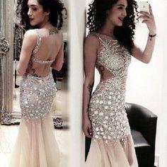 Cyber Monday Deals Custom Made 2014 ... @CyberMonday. http://ecybermonday.myshopify.com/products/custom-made-2014-crystal-prom-dress-sheer-evening-gown-long-open-back-sexy-wedding-party-dress-vestidos-de-gala-longo?utm_campaign=social_autopilot&utm_source=pin&utm_medium=pin