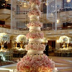 """Brides.com: . Since the cake will need to feed the many guests Ivanka and Jared will be having at their reception, the couple was able to choose a variety of cake and filling flavors. """"Her guests will have multiple options of what flavor of cake they would like to have,"""" she says. """"I think it's nice to give your guests choices. When you hit a certain number of guests I usually recommend choosing different flavors like this."""""""
