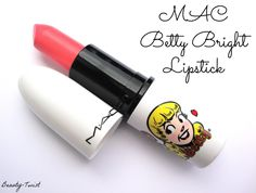 MAC Betty Bright Lipstick Review, Photos, Swatches