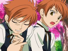Ouran Highschool Host Club Hikaru and Karou are the cutest ever!