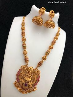 Temple jewellery Available at AnkhJewels for booking what'sapp Gold Temple Jewellery, Gold Wedding Jewelry, Gold Jewellery Design, Gold Jewelry, Handmade Jewellery, Gold Necklace, India Jewelry, Jewelry Necklaces, Gold Earrings Designs