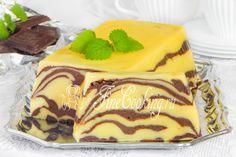 Шоколадно-творожная запеканка Мраморная